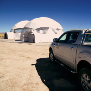 Dome tents for event